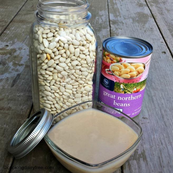 blended beans