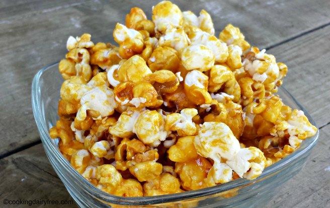 coconut caramel popcorn