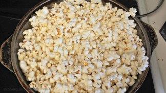 Popped kernels.