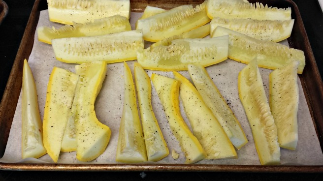 yellow squash sticks
