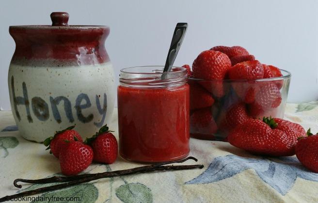 Vanilla Bean Strawberry Jam