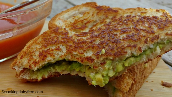 grilled avocado sandwich 2